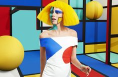 <p>Mix Mondrian and Roy Lichtenstein and you have the Aizone latest campaign. Again, a beautiful creative direction work by Jessica Walsh! Last year Sagmeister & Walsh created 3d environments insp