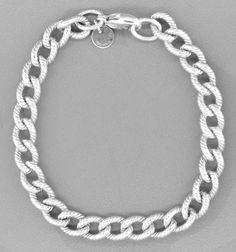 Tiffany & Co Twist Link Sterling Silver Bracelet