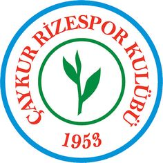 Çaykur Rizespor Kulübü | Country: Turkey / Türkiye. País: Turquía. | Founded/Fundado: 1953/05/19 | Badge/Crest/Logo/Escudo.