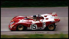 Jacky Ickx / Clay Regazzoni, Ferrari 312PB (1000km Nurburgring, 1971)