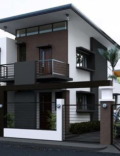 Pictures Of Modern House Designs. 20 Pictures Of Modern House Designs. 49 Most Popular Modern Dream House Exterior Design Ideas 3 Bungalow Haus Design, Duplex House Design, House Front Design, Tiny House Design, Apartment Design, Modern Small House Design, Minimalist House Design, Minimalist Home, Modern Design