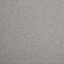 Italian Heathered Gray Cotton Jersey