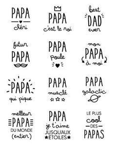 A imprimer pour la fête des pères