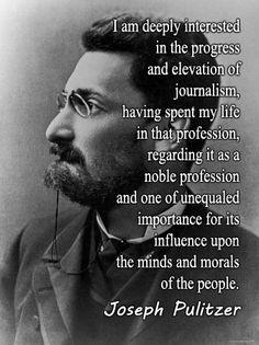 Pulitzer Joseph Pulitzer and His&nbspEssay
