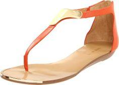 Amazon.com: Nine West Women's Wewantit T-Strap Sandal: Shoes