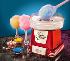Cotton Candy Maker ... (15 Nostalgic Retro Kitchen Gadgets ~ Gift Guide)