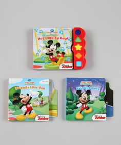 Take a look at this Play-A-Sound Board Book Set on zulily today!