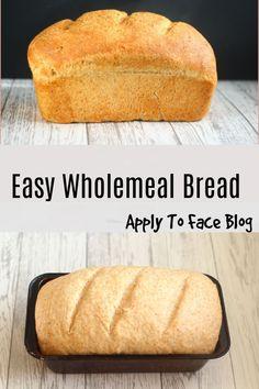 Easy Bread Recipes, Baking Recipes, Savoury Recipes, Cake Recipes, Wholemeal Bread Recipe, Trifle Pudding, Desert Recipes, Chocolate Recipes, Food Videos