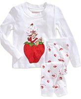 DC Comics Kids Pajamas, Toddler Girls Strawberry Shortcake 2-Piece Pajama Set sold at Macy's!
