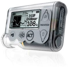 """I am a Type 1 diabetic..and this little honey keeps me alive and well!  Please ask your Dr. to tell you about this insulin pump! FUN and *Fabulous!* and remember: """"Sweet minds-think alike!"""""""