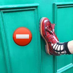 Kicking around Camden Road in the MANILA. #inourshoes