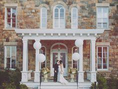 Vintage Wedding Venues | NY Wedding Venues: Intimate Weddings at Brecknock Hall