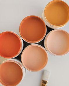 bedroom peach Color Inspo :: My Love for Warm Tones Again Colour Pallete, Colour Schemes, Color Combos, Warm Color Palettes, Earthy Color Palette, My New Room, My Room, Terracota, Color Stories