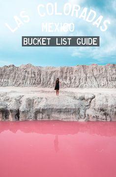 Guide: Las Coloradas - Yutacan, Mexico