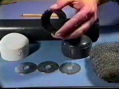 изготовление устройства подавления звука выстрела - YouTube