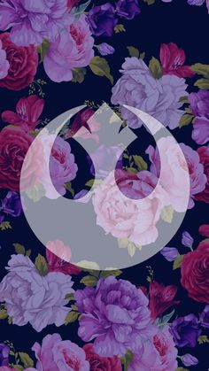 Wallpaper I created using http://www141.lunapic.com/editor/ I'm girly and I love Star Wars so this was the perfect combination!