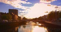 #hdr #Dublin #Irland #Liffey #Sunset HDR-Fotografie www.Loopzone.de