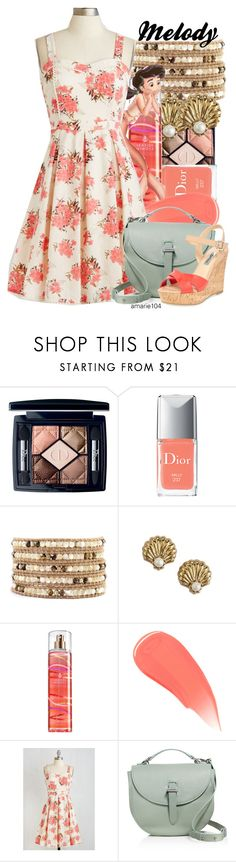 """Melody"" by amarie104 ❤ liked on Polyvore featuring Christian Dior, Chan Luu, Juicy Couture, Burberry, Meli Melo and Dune"
