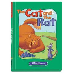 The Cat and the Rat - Hardcover book from ABCmouse.com. 4 years & up, 36 pages.  In The Cat and the Rat, a large cat in a dashing hat meets a rat with a bat — and they make a trade that helps them both! Children will learn words in the –at word family in this fanciful story about sharing and helping others. This hardcover book from ABCmouse.com features full-page illustrations as well as many important sight words, such as ate, was, and from.