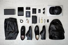 Mr. Black Garment Essentials... Essentials: Chris Tamp of Stamped LA http://hypebeast.com/2013/6/essentials-chris-stamp-of-stampd-la