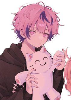 Anime Couples Drawings, Anime Couples Manga, Anime Poses, Anime Guys, Cute Anime Boy, Kawaii Anime Girl, Anime Chibi, Anime Art, Cute Anime Profile Pictures