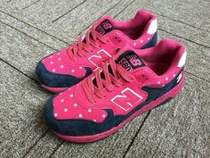Newest New Balance Pink Navy 2015 Womens Sneakers Cheap New Balance, New Balance Women, New Balance Sneakers, New Balance Shoes, Paul Frank, Sneakers For Sale, Latest Fashion, Topshop, Navy