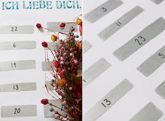 Lebensszenen: DIY// Adventskalender