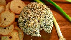 Everything Bagel cheese ball….yum