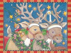 Animals - Animals - Wallpaper - Christmas Wallpapers, Free ClipArt for Xmas, Icon's, Web Element, Victorian Christmas Photos and Vintage Santa Claus pictures French Christmas, Noel Christmas, Victorian Christmas, Christmas Animals, Christmas Ideas, Vintage Christmas, Christmas Crafts, Mary Engelbreit, Illustration Noel