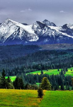 Photo by Eiramis Polish Mountains, Visit Poland, Tatra Mountains, Places In Europe, European Countries, Beautiful Scenery, Photo Editing, Landscapes, Old Things