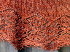 Knit Lace Shawl Ravelry $6
