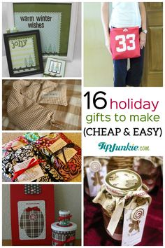 Here are 16 cheap homemade Christmas gift giving ideas to make this year as fabulous and creative handmade gifts! I think these gift giving tutorials are really… Inexpensive Christmas Gifts, Homemade Christmas Gifts, Giving, Holiday Crafts, Lunch Box, Creative, Handmade Gifts, Gift Ideas, Diy