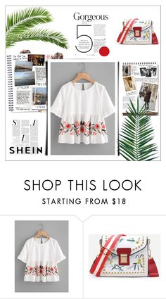 """""""Shein contest"""" by maiah-bee ❤ liked on Polyvore featuring Della, Garance Doré and Nika"""