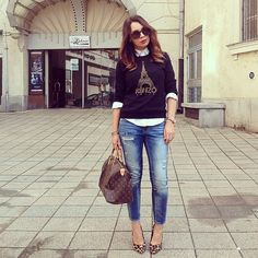 Chic à La Parisienne  #ootd - @Mariann Mező- #webstagram