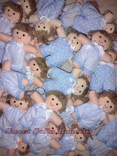SWEET SOFIA: Lembrancinhas de nascimento de gêmeos