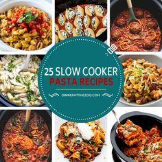 25 Scrumptious Slow Cooker Pasta Recipes