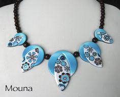 https://flic.kr/p/6vuxMz | collier délire de fleuriste