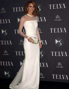 Laura Vecino en los premios T de Telva