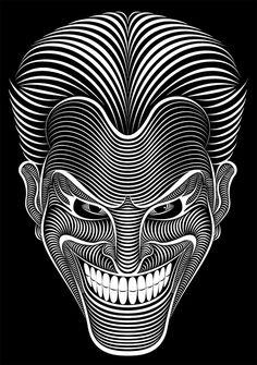 Line-Art Illustrations by Patrick Seymour