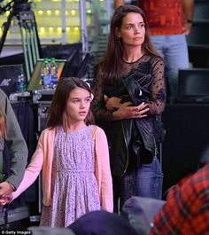 While filming The Kennedys - After Camelot, Katie Holmes made her daughter Suri Cruise a d...
