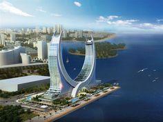 5* and 6* Lusail Katara Hotel, Doha (Qatar) - Kling Consult. Opening in 2017.