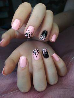 prom dress makeup nail design nail designs ten nail & makeup studio prom dress makeup nail design and nail makeup hansen chrome nail makeup nail designs nail art designs Dot Nail Designs, Acrylic Nail Designs, Simple Nail Designs, Stylish Nails, Trendy Nails, Fancy Nails, Pink Nails, Nagellack Design, Cute Acrylic Nails