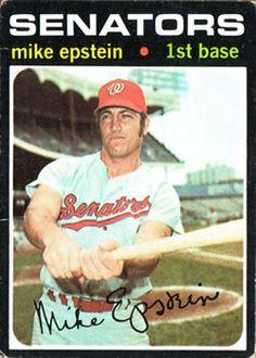 655 - Mike Epstein SP - Washington Senators