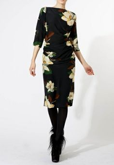 Vivienne Westwood: we're in love with this dress - especially the colours. Floral, but not overstated, it's the perfect embodiment of winter sophistication.