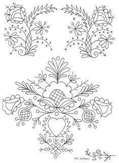 Peasant Folk Art Embroidery