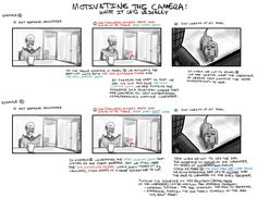 How to Draw for Storyboarding Animation Storyboard, Animation Reference, Drawing Reference, How To Storyboard, Drawing Techniques, Drawing Tips, Film Tips, Comic Tutorial, Comic Layout