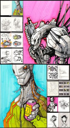 You! Be Inspired! – Inspirations from Sketchbooks - Artem Solop
