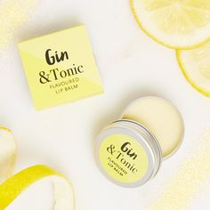 Gin and Tonic Lip Balm - New Lip Balm  - Lip Balm - Gin Lip balm - G and T - Gin gift - Gin Wedding favour - Gin & Tonic Lip Balm - best lip by coconutgrass on Etsy