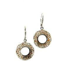 Celtic Silver Earrings. Pretty!!