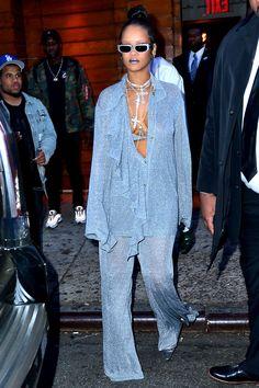 Rihanna Street Style, Mode Rihanna, Street Style Outfits, Rihanna Fenty, Fashion Killa, Look Fashion, High Fashion, Fashion Outfits, Womens Fashion